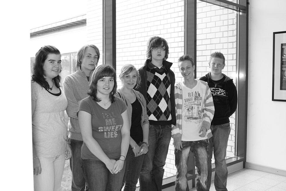 Das Gründungsteam der Mittelpunktredaktion 2008